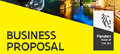 Nieuwe business proposal template voor Flanders Investment & Trade
