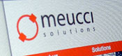 New website for Meucci Solutions
